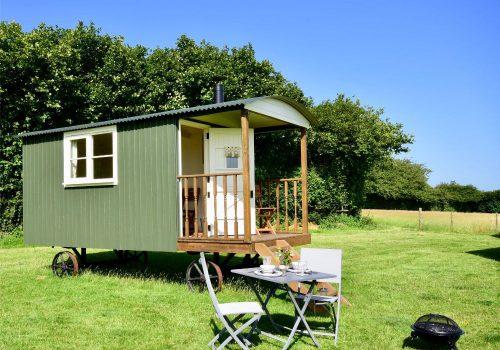 Moss Glamping Shepherd's Hut